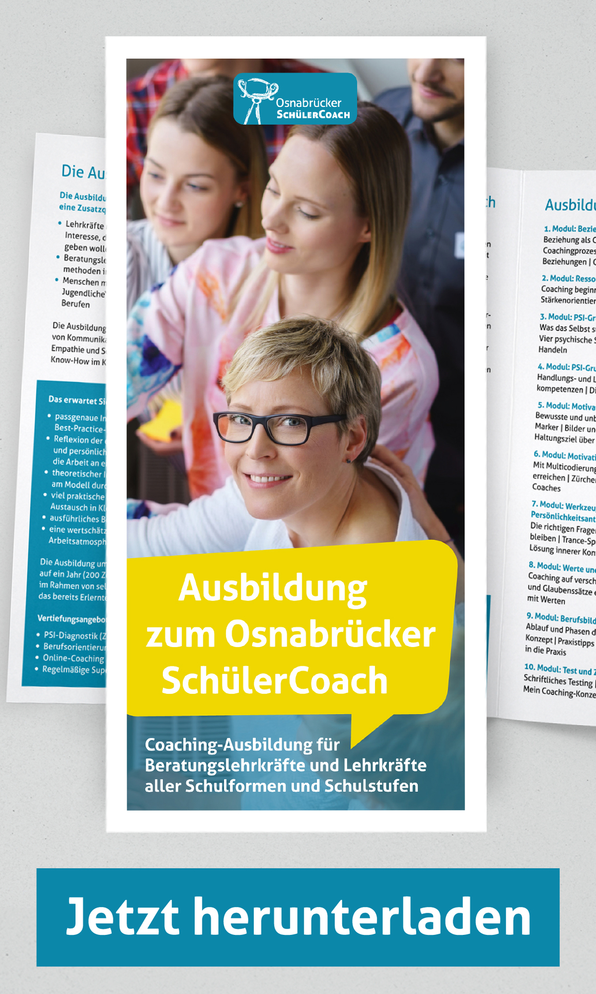 Flyer Ausbildung SchülerCoach Osnabrück